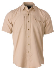 Phenix Shooting Shirt, Short Sleeve-Khaki