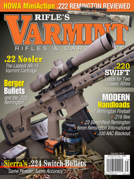 2017 Varmint Rifles & Cartridges