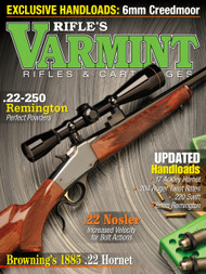 Spring 2018 Varmint Rifles & Cartridges