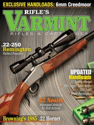 Spring 2018 Varmint Rifles & Cartridges