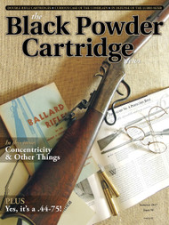 Black Powder Cartridge News 98 Summer 2017