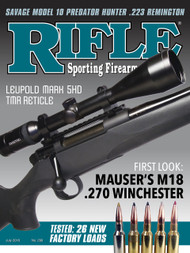 Rifle 299 July 2018