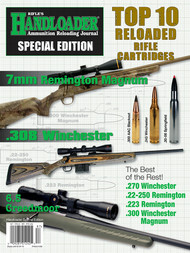 2018 Handloader Special Edition Top 10 Rifle Reloaded Cartridges