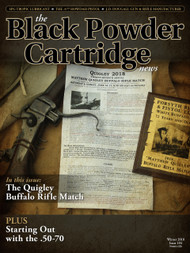 Black Powder Cartridge News 104 Winter 2018