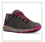 "WOMEN'S MOUNTAIN 600 LOW 3"" GRAY/PLUM - M"