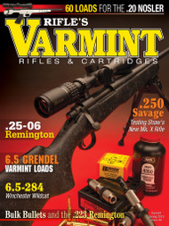 2019 Spring Varmint Rifles & Cartridges