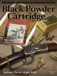 Black Powder Cartridge News 106 Summer 2019