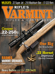 2019 Fall Varmint Rifles & Cartridges