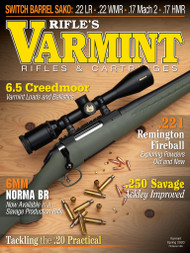 2020 Spring Varmint Rifles & Cartridges