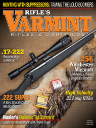 2020 Fall Varmint Rifles & Cartridges