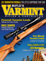 2021 Spring Varmint Rifles & Cartridges