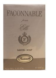 Faconnable Pour Elle Savon Soap 3.33 oz / 100 g Sealed -FC2015
