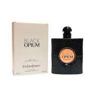 Black Opium by Yves Saint Laurent Eau De Parfum 3 oz Tstr Pack