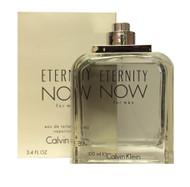 Calvin Klien Eternity Now For Men 3.4 oz/3.3 oz Eau De Toilette *White In Box*