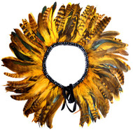 Gatsby Feather Collar (Mustard)