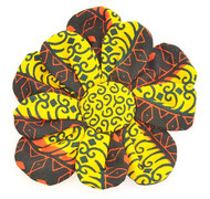 YELBLACK SUNFLOWER BROOCH