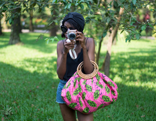 PINKSANDS BAMBOO TOTE