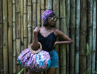 PROTEA BAMBOO TOTE AFRICAN BAG