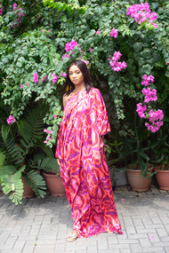 CYPRESS OFF SHOULDER KAFTAN