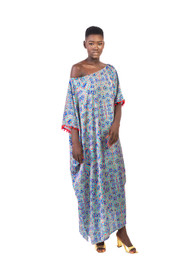 CANDIDA OFF SHOULDER KAFTAN