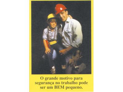 Cartaz motivação de segurança (poster)