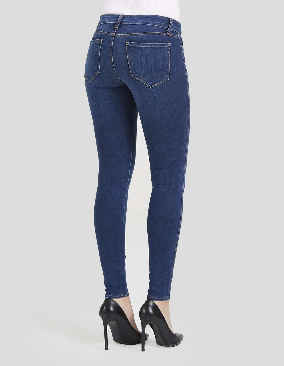 to wear - High Crawford waist skinny jeans video