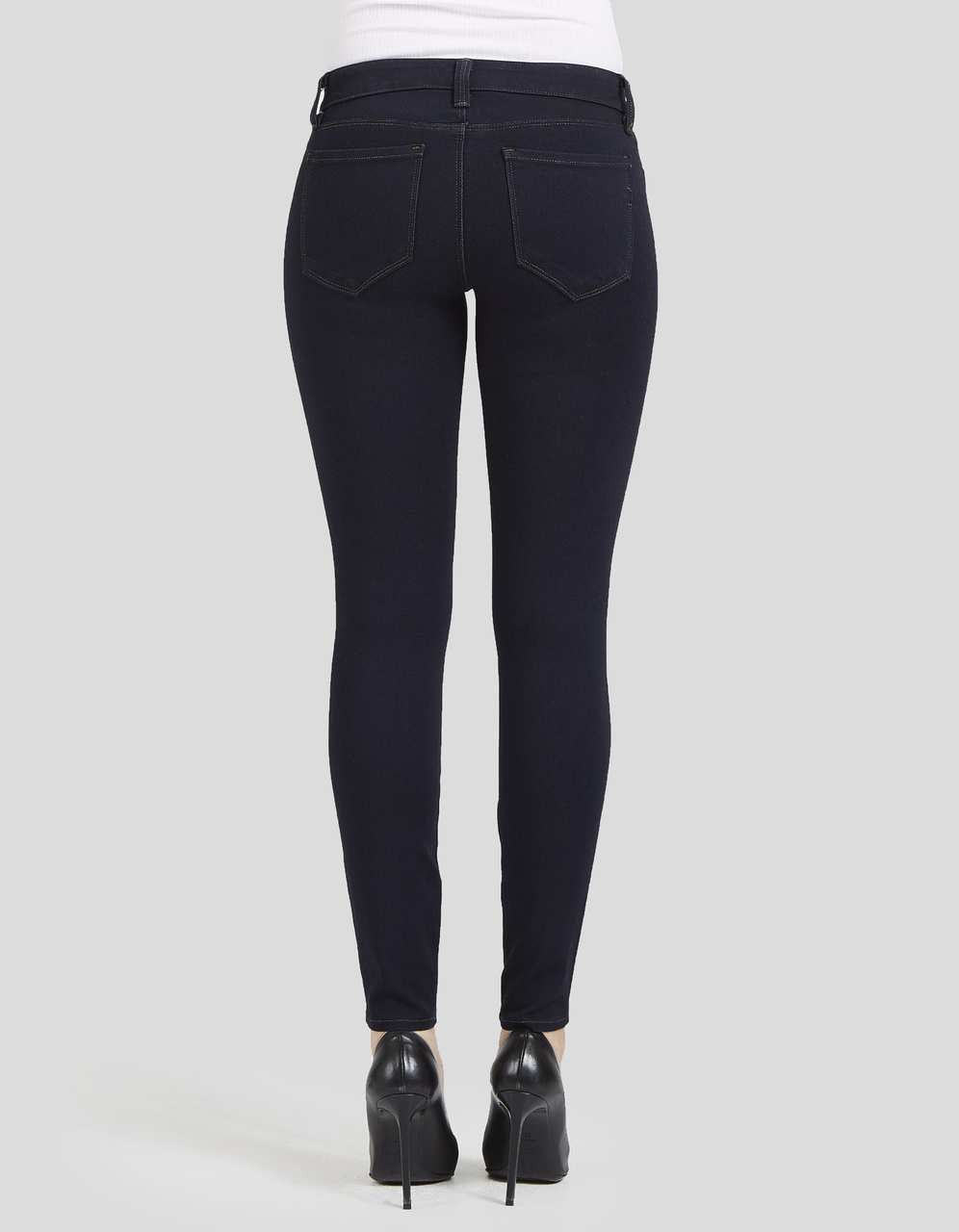 High Crawford waist skinny jeans photos