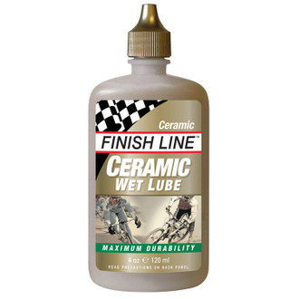 Finish Line Ceramic Wet Lube 4oz Squeeze