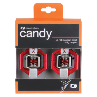 Crankbrothers Candy 3 Red