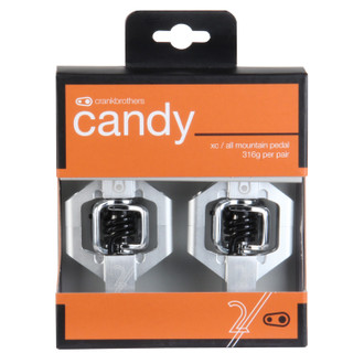 Crankbrothers Candy 2 Silver/Black