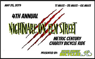 4rd Annual Nightmare on Elm Street Charity Ride Entry