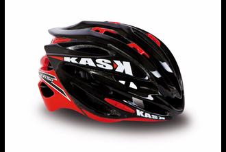 Kask Vertigo 2.0 Road Helmet - Black and Red
