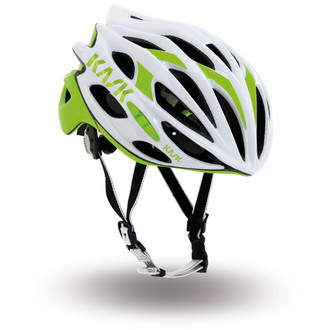 Kask Mojito Road Helmet - White/Lime