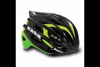 Kask Mojito Road Helmet - Black/Lime