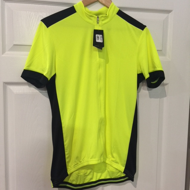 New Specialized Men/'s RBX  jersey Fluorescent Yellow size Large