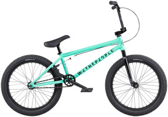 "We The People CRS Free Coaster BMX Bike - 20.25"" TT, Toothpaste Green"
