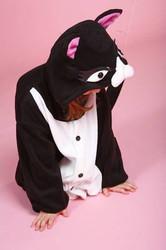 Cat kitty kids boys girl animal costume pajamas anime fleece  BCozy