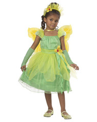 BLOSSOM FAIRY princess dress kids toddler girls halloween costume pixie 4-6