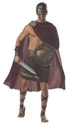 SPARTAN WARRIOR 300 roman greek mens gladiator war halloween costume LARGE