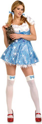 DOROTHY wizard of oz womens sexy halloween costume XS