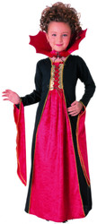Vampiress Dress Girls Costume