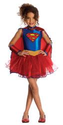 Supergirl Tutu Kids Costume