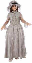 Victorian Ghost Dress Kids Costume
