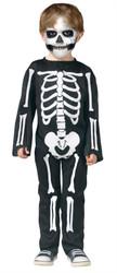 Skeleton Bones Jumpsuit Halloween Costume Toddler