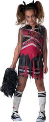 Spiritless Cheerleader Zombie Girl Costume