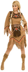 Sacajawea Indian Maiden Costume