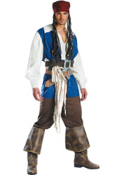 Captain Jack Sparrow Mens Costume