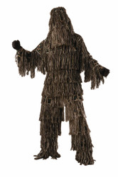 Ghille Suit Adult Camoflauge Costume