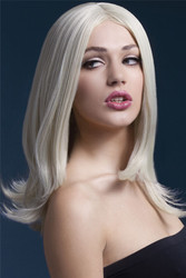 BLONDE SOPHIA WIG short straight hair professional quality heat resistant