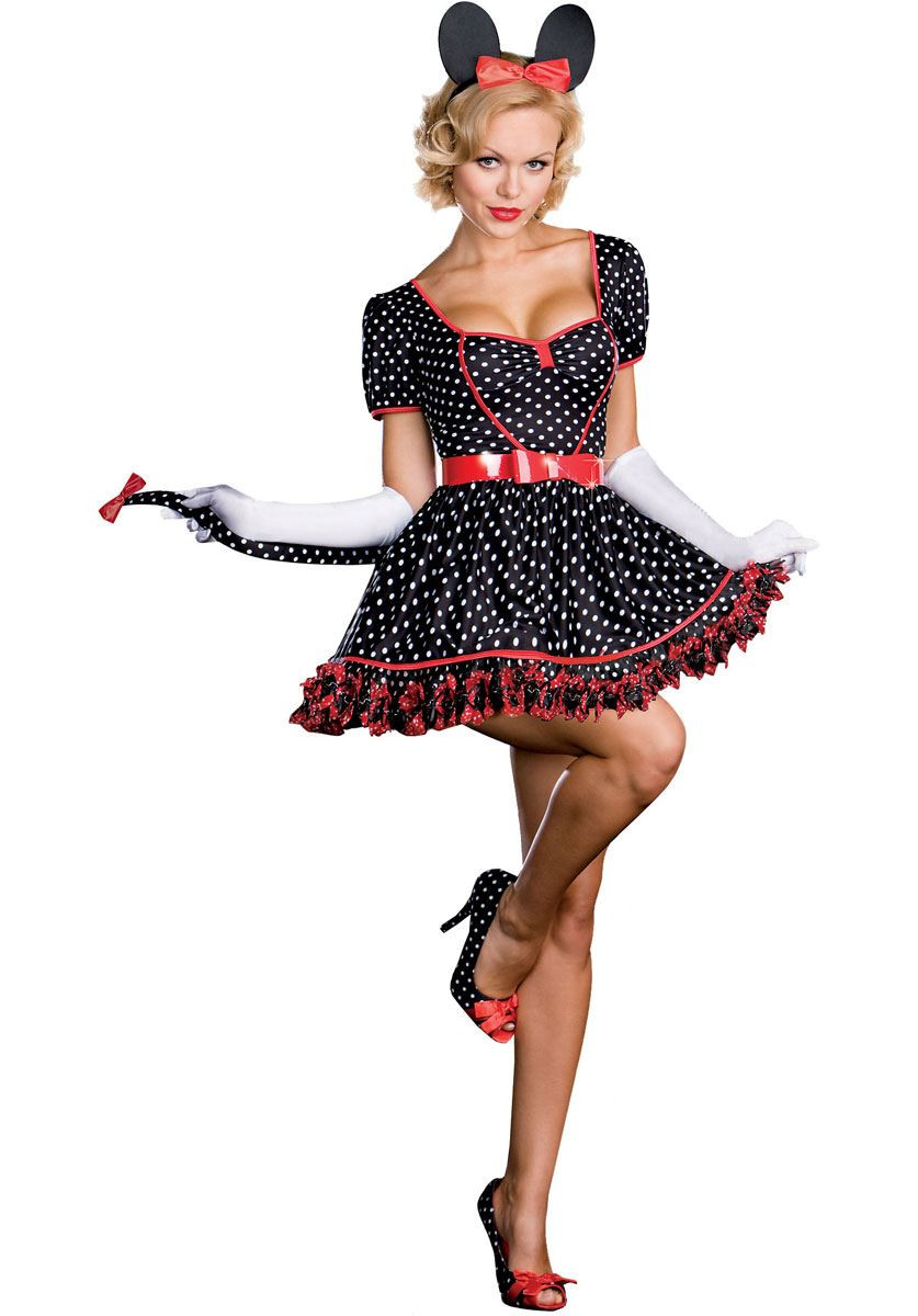 Mickey and minnie mouse adult costume seems